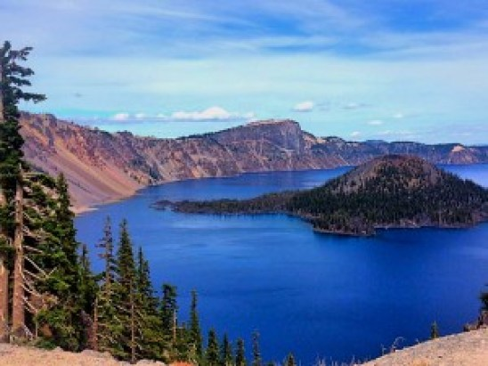 Crater Lake Wizard Island