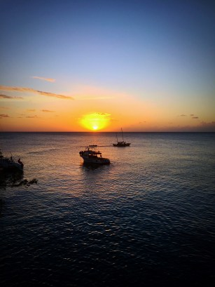 sunset ricks cafe negril, jamaica
