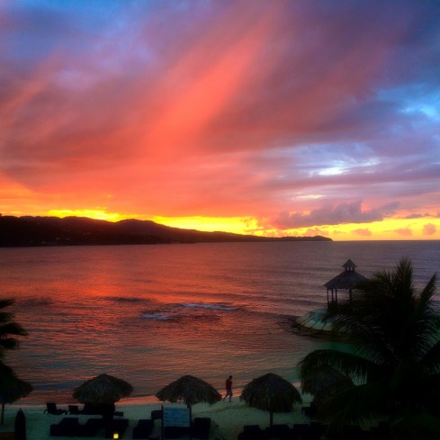 secrets wild orchid montego bay sunset