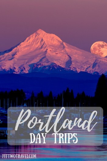 VIsiting Portland, Oregon? Here are 6 must see day trips from Portland, including Mt Hood and Multnomah Falls fittwotravel.com