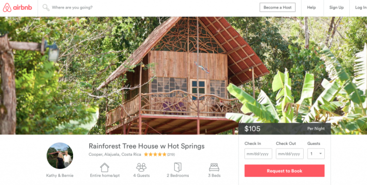 airbnb fit two travel
