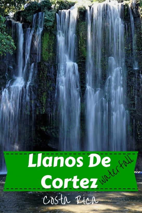 Llanos de Cortez waterfall Liberia Costa Rica, one of the prettiest and easily accessibile waterfalls in costa rica fittwotravel.com
