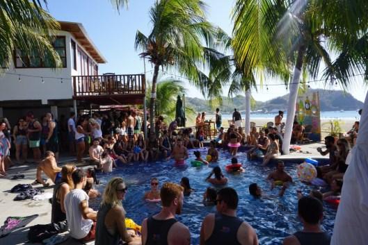 Hotel anamar san juan del sur pool