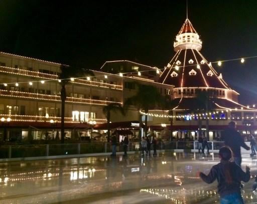 hotel del coronado ice skating