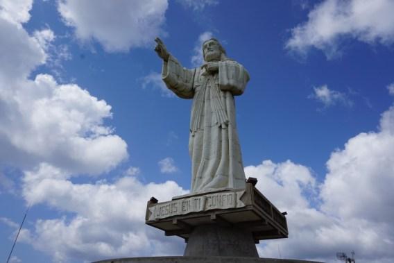 jesus statue san juan del sur