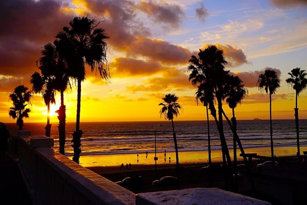 oceanside sunset san diego