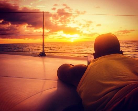 san juan del sur catamaran sunset