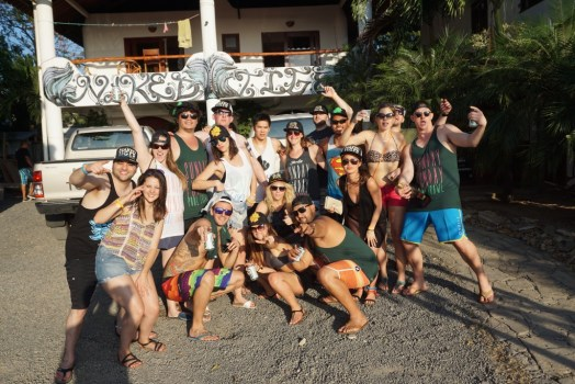 sunday funday pool crawl san juan del sur naked tiger