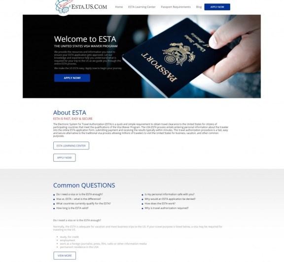 esta.net USA travel