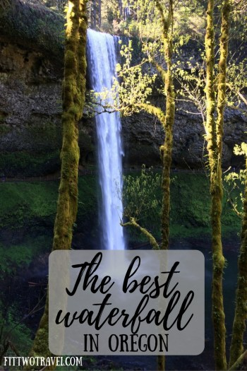 The best waterfall in Oregon is located 50 minutes from Portland and falls from 177 feet. Located in a state park there is tons of beauty to see fittwotravel.com
