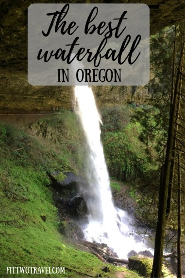 The best waterfall in Oregon is located 50 minutes from Portland and falls from 177 feet. Located in silver falls state park there is tons of beauty to see fittwotravel.com