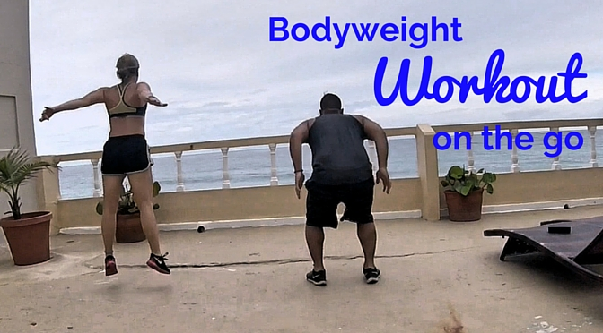 Quick Bodyweight Workout While Traveling