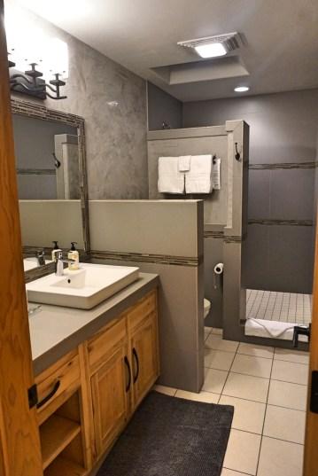 Wall Street suites Oregon bathroom fittwotravel.com