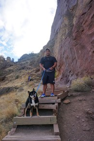 Smith Rock hike Bend
