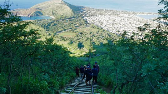 hike koko head trail Hawaii fittwotravel.com