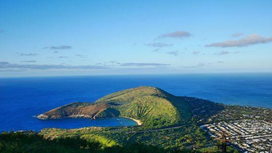 koko head hike view of Oahu fittwotravel.com