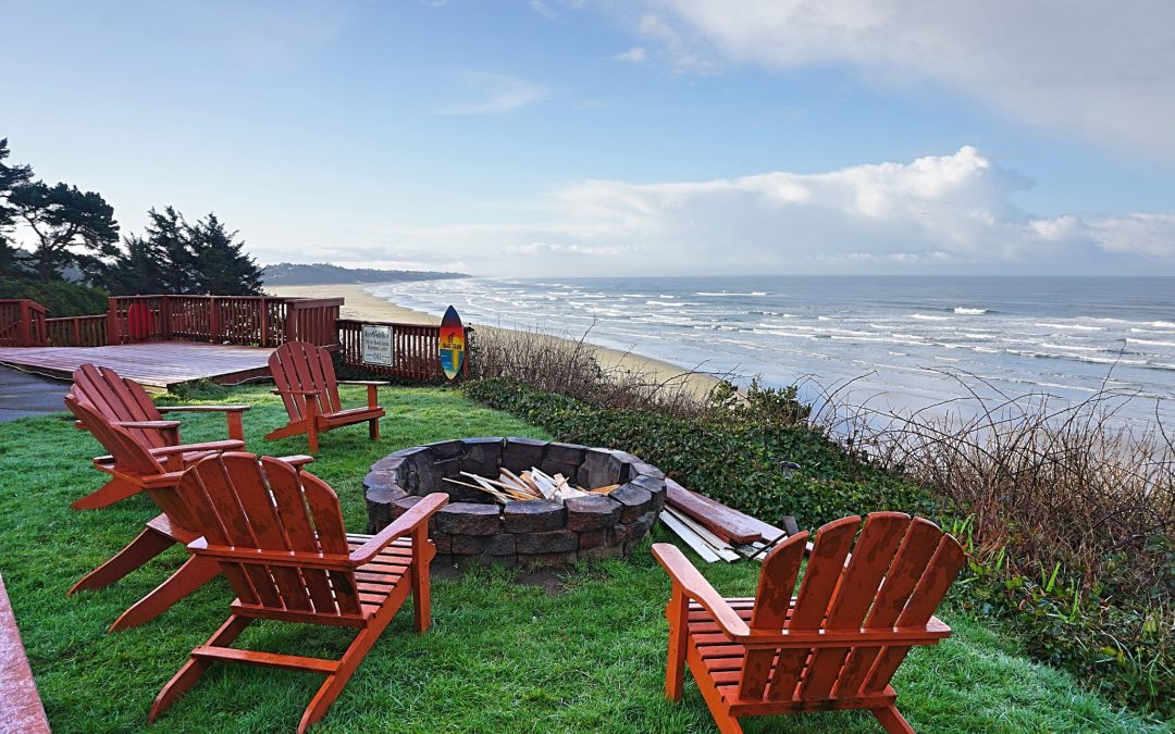 agate beach motel firepit fittwotravel.com