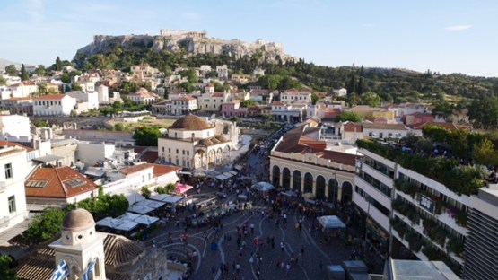 A for Athens roof top bar fittwotravel