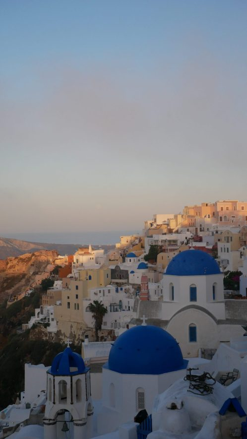 santorini sunset fittwotravel.com