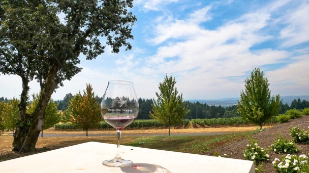 Where to visit Oregon wine country Domaine Serene Fittwotravel.com
