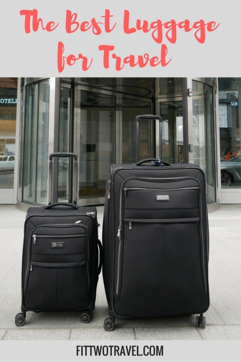 Ifly x series luggage best lightweight carry on for travel | how to find the best luggage for travel | best luggage sets for international travel fittwotravel.com