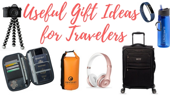 Useful gift ideas for travelers and frequent flyers