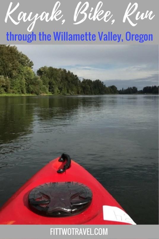 Salem Oregon River 2 Ridge relay race | Kayak, Bike, Run through the Willamette Valley Fittwotravel.com