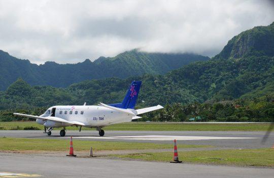 Air Rarotonga flight Cook Islands fittwotravel.com