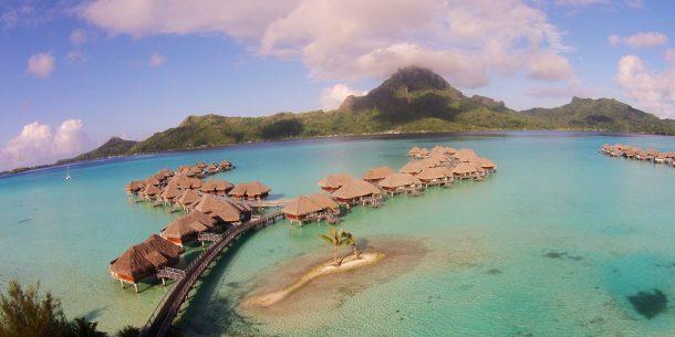 best overwater bungalows Bora Bora intercontinental
