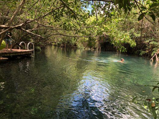 hacienda tres rios cenotes in mexico fittwotravel.com