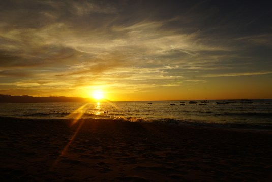 watch the sunset at la palapa things to do in puerto vallarta mexico fittwotravel.com
