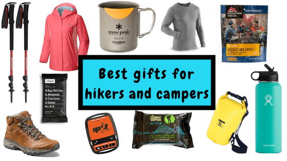 Best gifts for hikers and campers fittwotravel.com