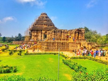Odisha, India konark-temple