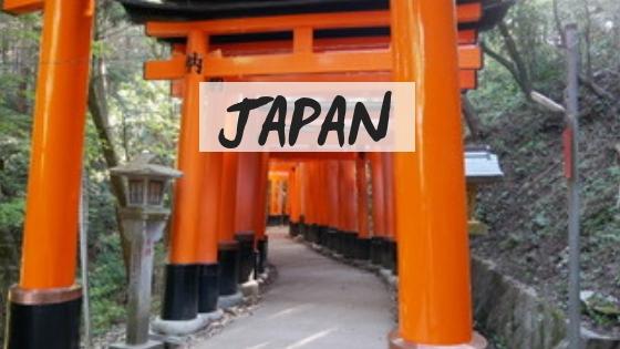 japan destination page