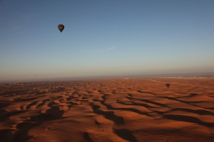 things to do in Dubai for couples Hot Air Balloon Ride