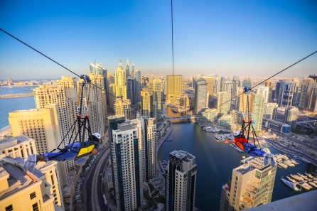 things to do in Dubai for couples Zipline Dubai