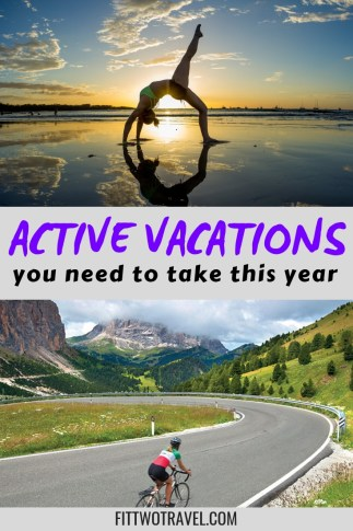 Active vacations and Fitness Retreats to take this year #Fitness #Health #Travel