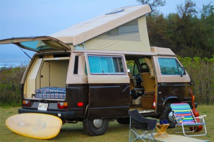 Hawaii surf campers for rent