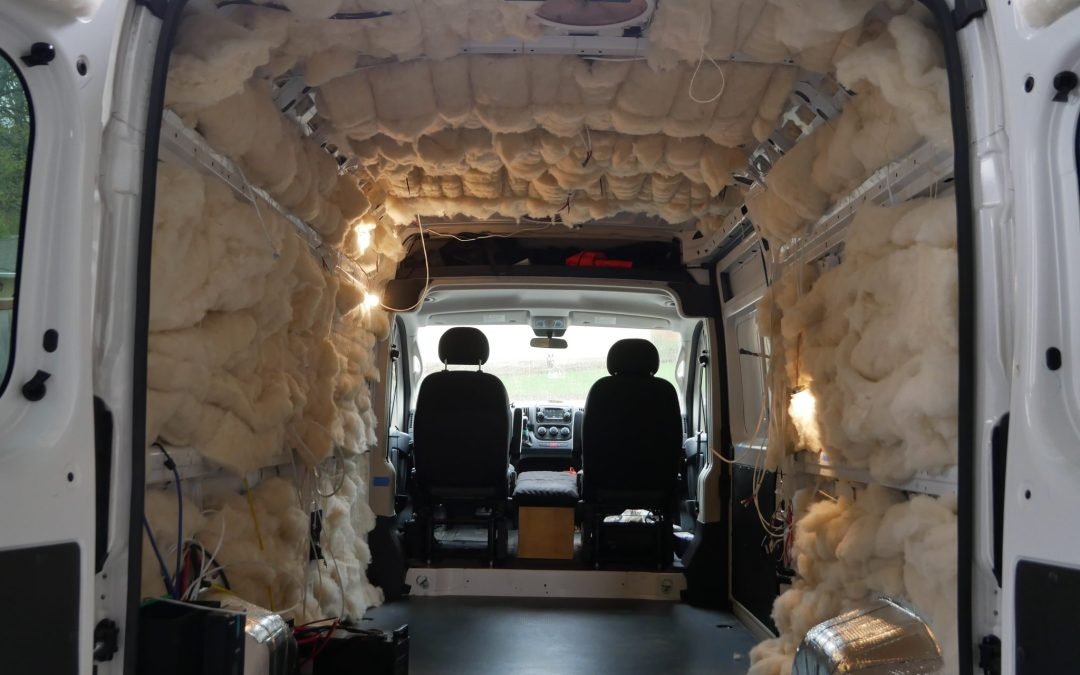 Van Insulation: Why we Used Havelock Wool for our Van Conversion