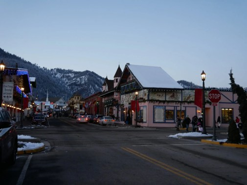 Leavenworth bavarian village