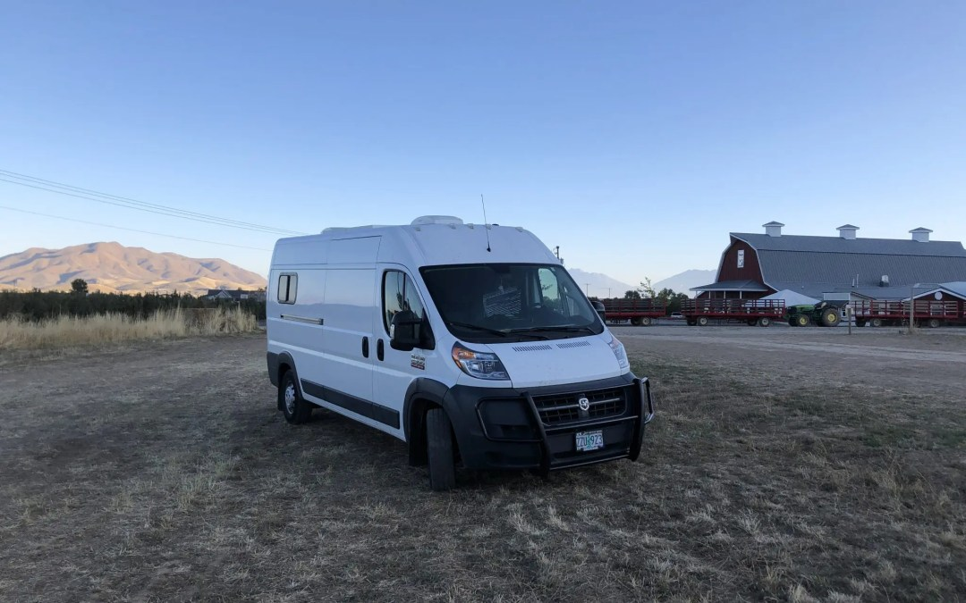 Harvest Hosts Review – Overnight Van and RV Camping at Beautiful Locations