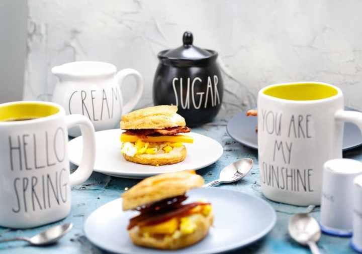 Breakfast Sandwiches, make-head breakfast sandwiches, protein, food-prep, breakfast