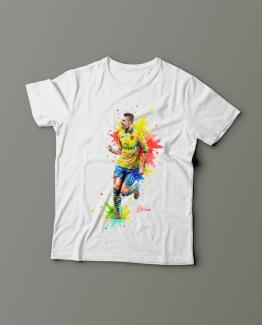 Футболка с принтом Оливье Жиру
