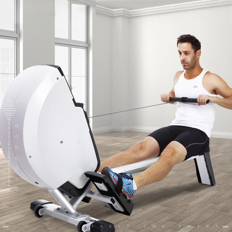 Foldable Rowing Machine Fitwhilehome