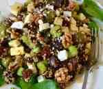 Quinoa bietensalade