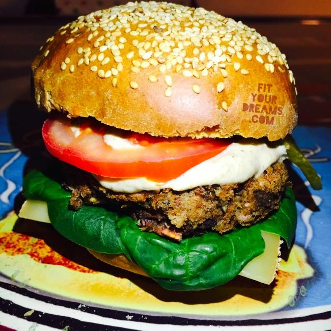 Hamburger harocots rouges