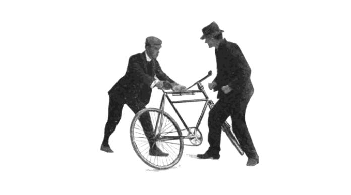 失傳百年單車防身術重現f