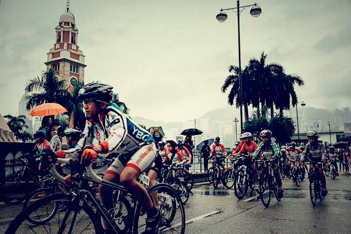 International Renowned Cyclists Gather At The First-Ever Hong Kong Cyclothon