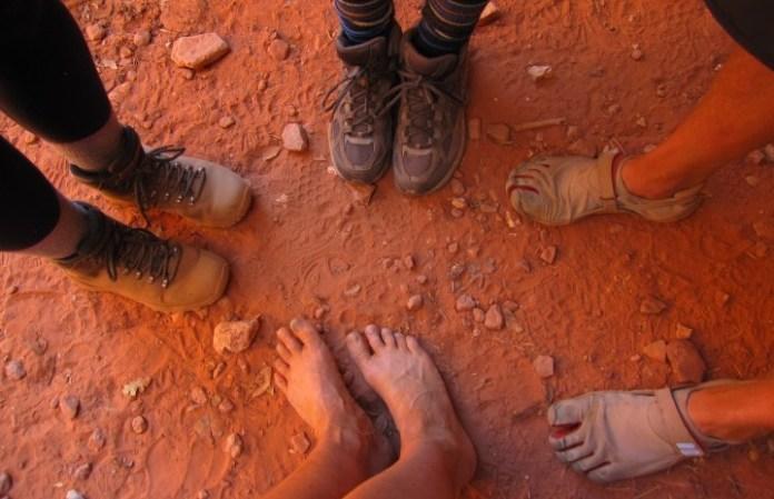 台灣山友分享不穿鞋經驗