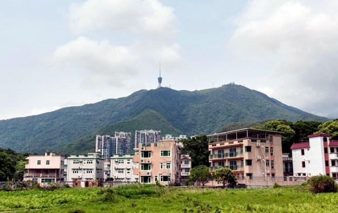 香港深圳一界之隔